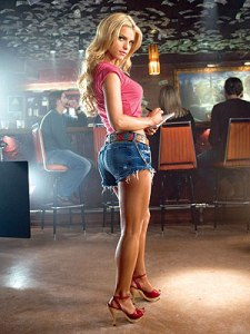Daisy Dukes are mentioned; it must be a country song.