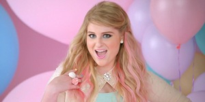 Is Meghan Trainor really talking to her boyfriend in the song?