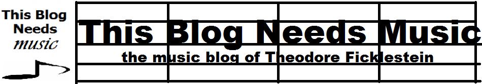 This Blog Needs Music
